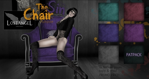 The Sin Chair Posetastic! Exclusive